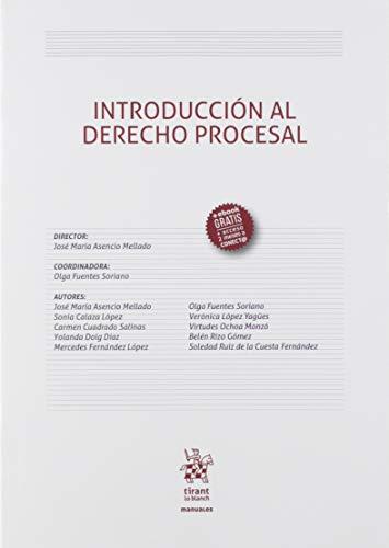 Introducción Al Derecho Procesal: 1 (Manuales de Derecho Procesal)