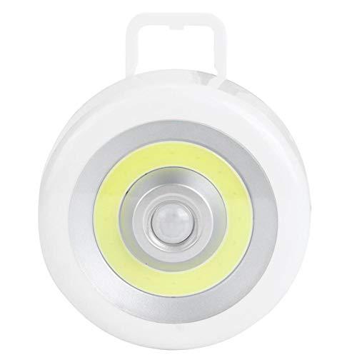 Luz nocturna LED, lámpara de pared con sensor inalámbrico, utilizada para armario de pasillo con gancho, adecuado para decoración de iluminación de lámpara de pared interior