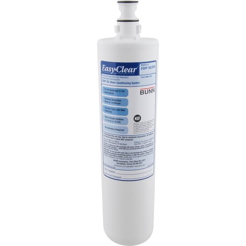 "BUNN-O-MATIC Easy Clear EQHP-10 Water Filtration Cartridge 14"" Long EQHP10LCRTG Louisiana"