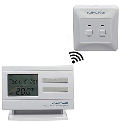 Foto di COMPUTHERM Q7RF Termostato Digitale Programmabile Senza Fili , per Riscaldamento e Climatizzazione, Termometro Casa, Cronotermostato