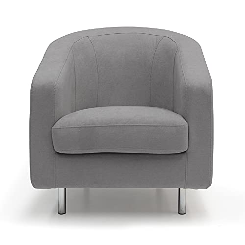 SALLY Armchair in soft waterproof fabric