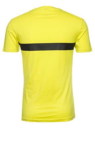 BOSS T-Shirt RN Camiseta, Amarillo (Bright Yellow 731), L para Hombre