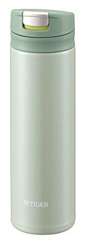 Tiger Stainless Mini Bottle 0.3L Mint Green Tiger Sahara Mug Bottle (MUJURYOKU) MMX-A030-GM