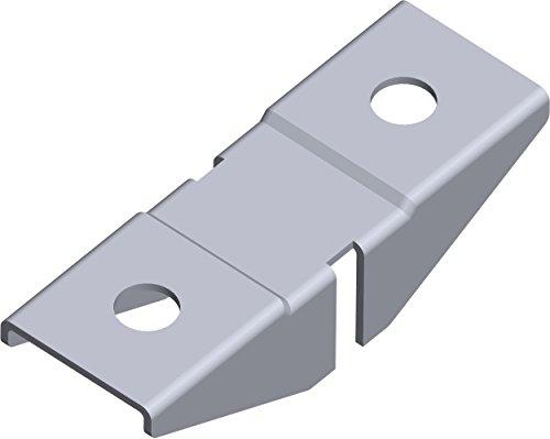 Element System aufsteckha lter pour Pro de supports, double face, coussin pour bois et étagères en verre, système Étagère, 11612–00001
