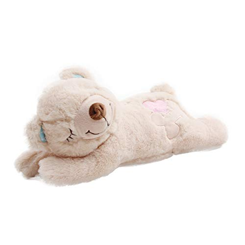 Pet Prime Dog Plush Toy Plush Bear Puppy Heartbeat Plush Bear Puppy Comfort...