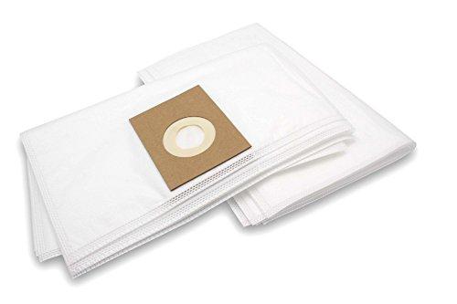 vhbw 10 Beutel Mikrovlies passend für Staubsauger Saugroboter Mehrzwecksauger Fakir/Nilco Professional S 10, S 12, S 20 L, S 22, S 25, S 30, S 32
