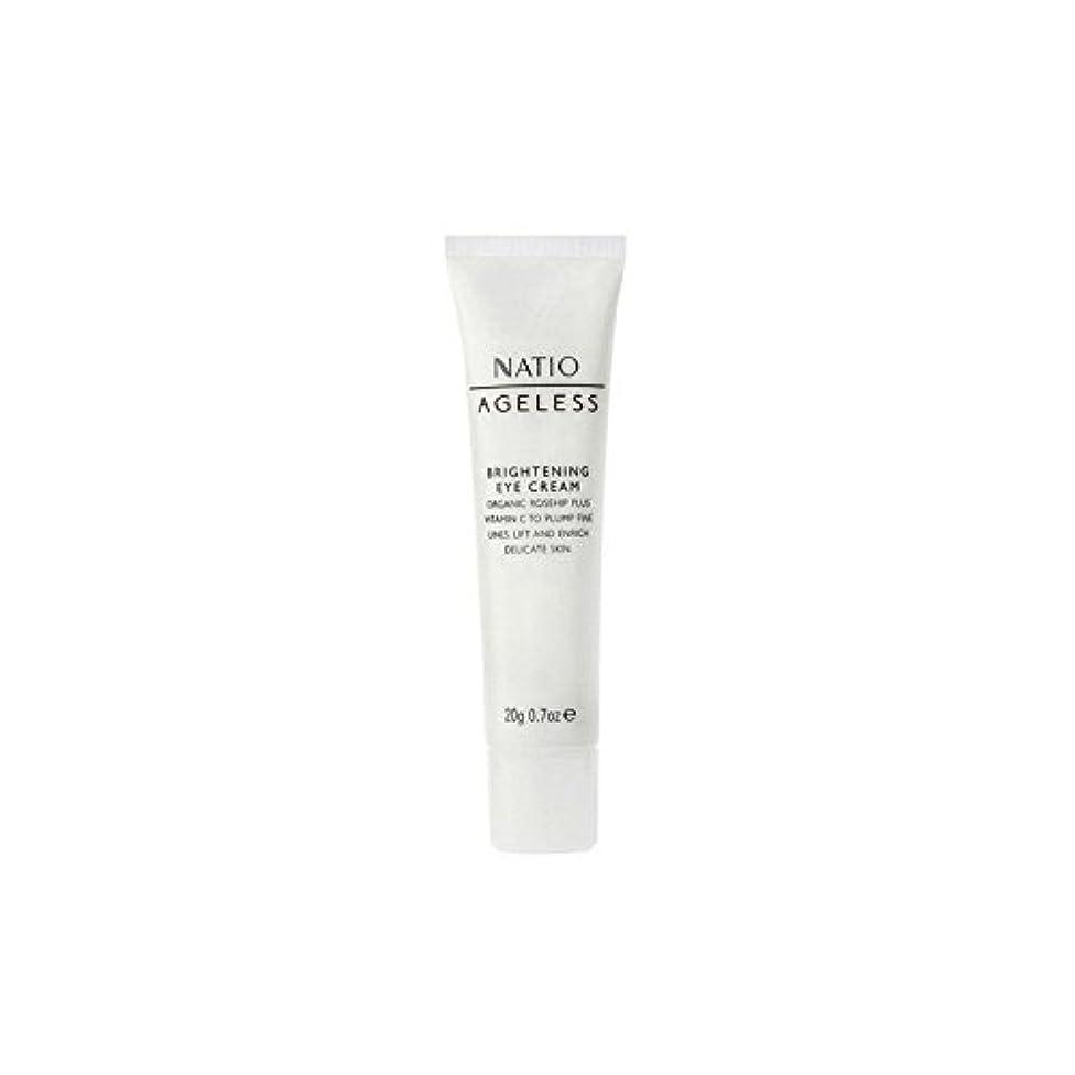 ジャンクションやりすぎ講義Natio Ageless Brightening Eye Cream (20G) - 永遠の白アイクリーム(20グラム) [並行輸入品]