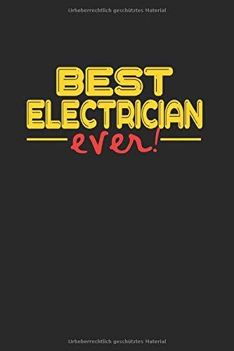 Best ever Electrician: UNDATIERTER WOCHENPLANER TERMINKALENDER mit Monatsansicht für DJ und DISC JOKEY A5 6x9 100 Seiten ! Geschenk für DJS