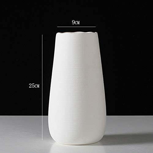 SSNG Weiße Keramikvase, Vasen Deko Geeignet Für Hochzeiten Weihnachtsveranstaltungen Tische Hochzeitsdekorationen