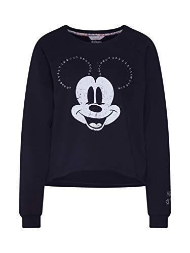 FROGBOX Damen Sweatshirt Mickey Mouse schwarz S