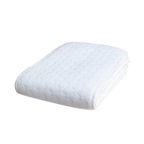 teng hong hui 10pcs Reutilizable bebé pañales de algodón Algodón Los Insertos de pañales Inserciones de 3 Capas Lavable Infantil Pañales del Cuidado del bebé