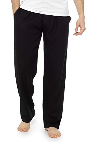 CityComfort Pantalones Hombre, Ropa Hombre Verano Casual, Pantalon Lino Hombre Largo con Cintura Elastica, Pantalones Anchos para Playa Regalos para Hombres y Adolescentes