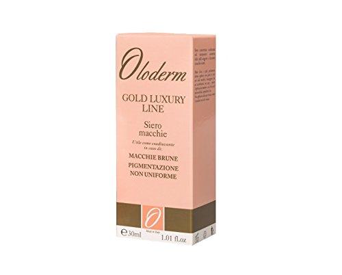 Oloderm Rebirth Line - Siero Macchie • Acido Kojico • Vitamina A • Vitamina E • Vitamina C • Acidi Di Frutta • Made In Italy