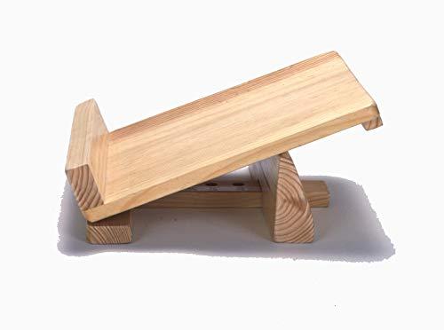 木製 足首のびーる
