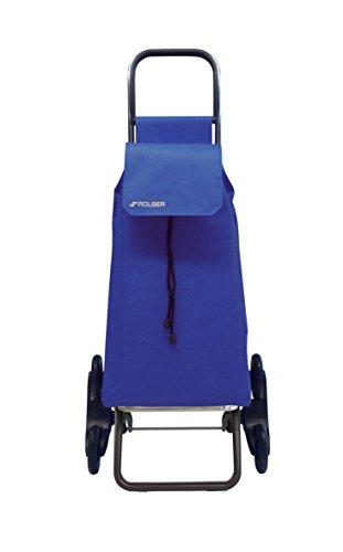 Rolser Treppensteiger RD6 / SAQUET Nylon, SAQ006, 47,5 x 39,5 x 107 cm, 43 Liter, 50 kg Tragkraft, blau