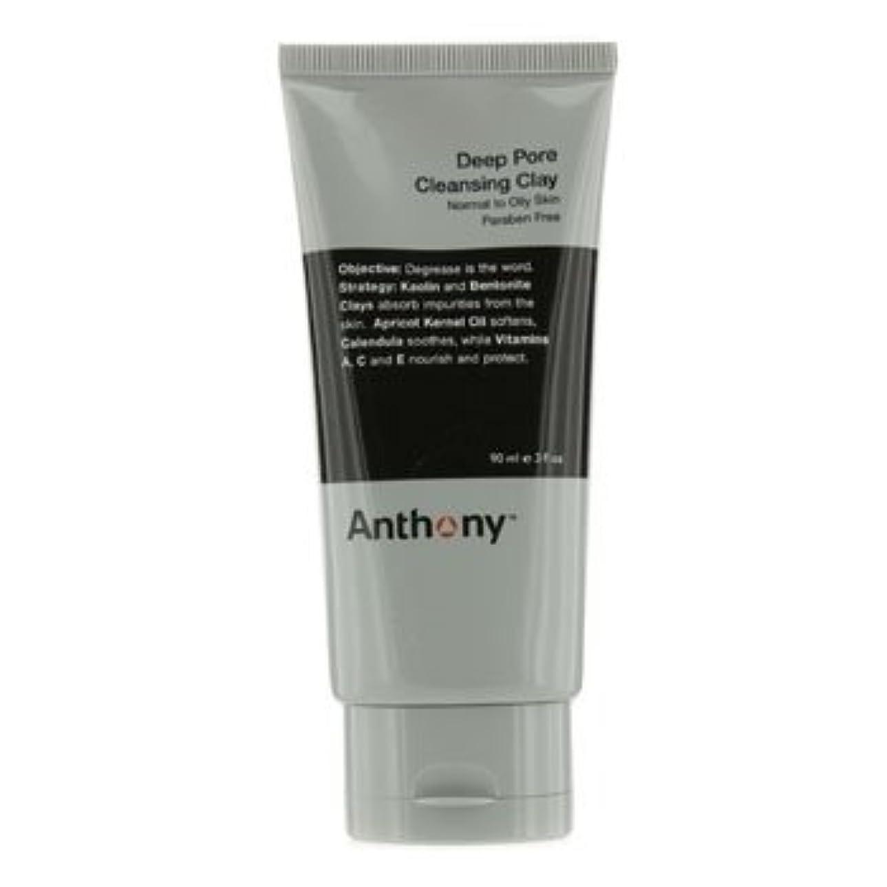 杖わな商人アンソニー Logistics For Men Deep Pore クレンジング Clay (Normal To Oily Skin) 90g [並行輸入品][海外直送品]
