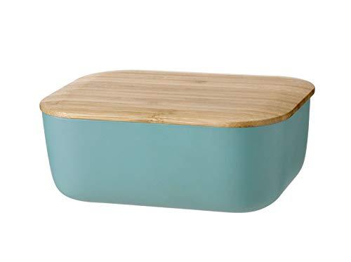 Stelton Rig Tig - Box-IT Butterdose - Dusty Green/staubgrün - Melamin/Bambus