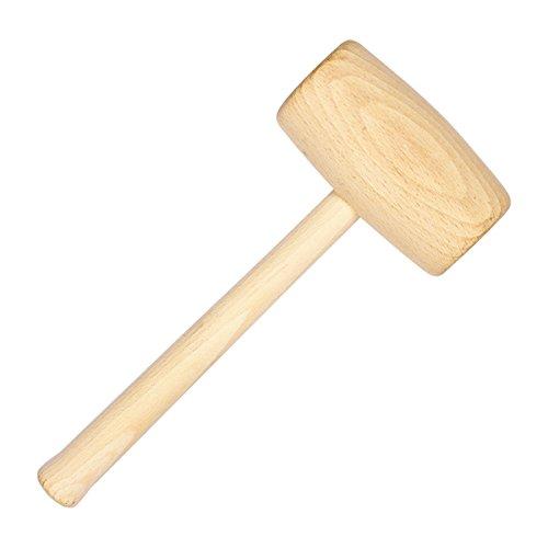 Holzhammer Schreinerknüppel Schreinerhammer rund 300 g Klüpfel Holzklüpfel