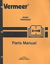 vermeer parts manual