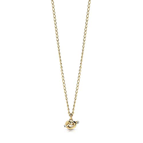 Guess Women Stainless Steel Cubic Zirconia Pendant Necklace