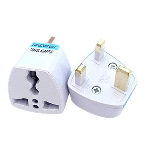 50 Pcs Universal EU US AU to UK AC Travel Power Plug Charger Adapter Converter Travel Adaptors UK Converter