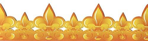 FABOLAND Boite DE 100 COURONNES LYS Grand Prestige Attache Carton-EPIPHANIE - Galette des Rois
