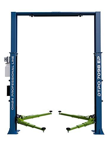 OnlineMoto24 2-Säulen Hebebühne DTPO 7098 EP 4.0T - 400V - Werkstatt-Ausrüstung - Arbeitsbühne - Wagenheber - Hebevorrichtung - Modell 2021