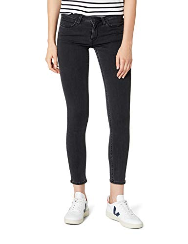 Lee Scarlett Jeans Vaqueros Skinny, Gris (Stone Grey Lcao), 27W/35L para Mujer