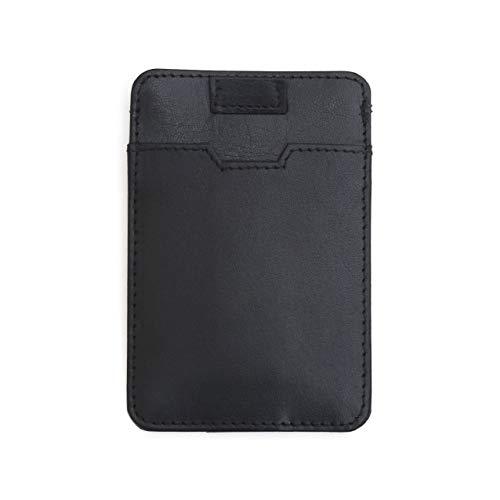 Premium Kredit-Kartenetui mit RFID und NFC Schutz von Ragusa-Trade I EC-Karten Geldbeutel Slim Kartenetui Leder RFID-Blocker Geldbörse Herren I Portemonnaie Männer Klein RFID-Schutz