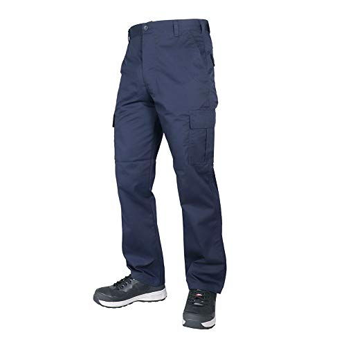 Lee Cooper Workwear Cargo Pant, 40R, marine, LCPNT205 - 3