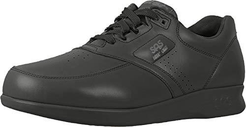 SAS Time Out Men's Tripad Comfort Leather Walking Shoe, Black, 9.5 Wide