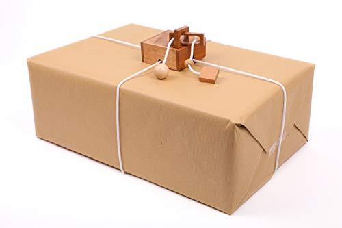 ROMBOL KEEPR - Der Geschenkesafe - Kreatives Geduldsspiel als Geschenkverpackung für Erwachsene und Kinder, Modell:Alcatraz