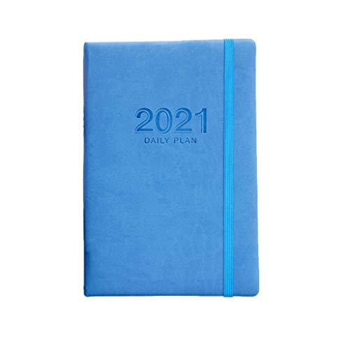 Blocs y Cuadernos de Notas 2021 Organizador planificador A5 Diario Cuaderno y Revista Weekly Mensual Note Response Personal Travel Business Bloc de Notas Papelería Blocs y Cuadernos de Notas