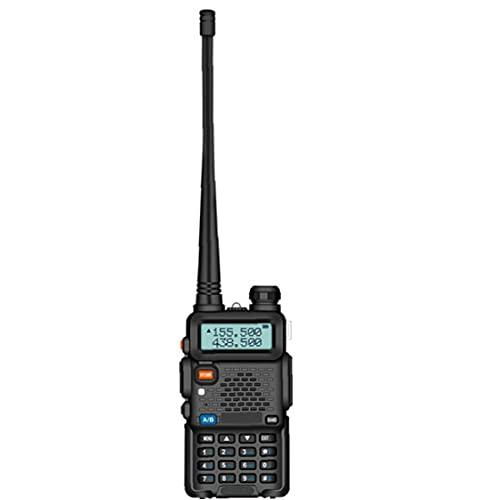Tuimiyisou UV-5R Adultos walkie-Talkie de Dos vías transceptor de Radio para la Supervivencia Acampar al Aire Libre