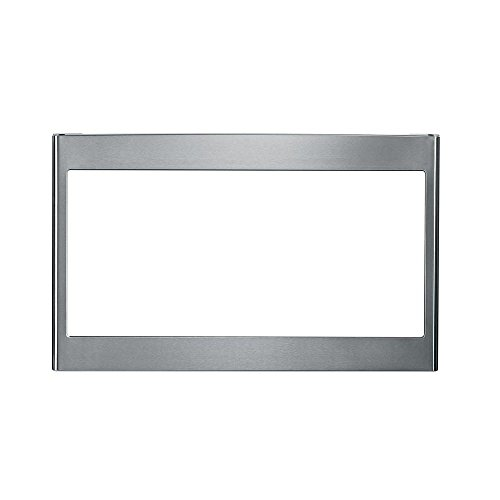 "GE JX827SFSS 27"" Stainless Steel Deluxe Microwave Trim Kit"