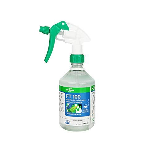 bio-chem FT 100 Reinigung Glas Metall Spiegeln Glasreiniger streifenfrei 500 ml
