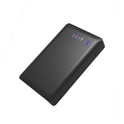 Lhlbgdz 2,5 Pulgadas Wi-Fi Acceso al Disco Duro Caja de Disco Duro a través de la función de teléfono o energía de la PC bancaria Exclusiva App