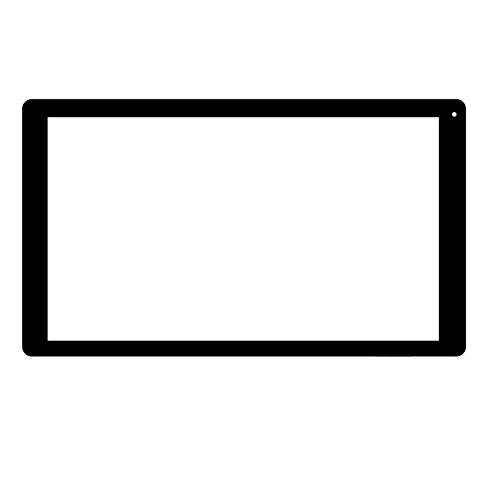Negro Color EUTOPING  De Nuevo 10.1 Pulgadas Pantalla tactil Digital La sustitución de para SPC Dark Glee 10.1 Octa Core HD