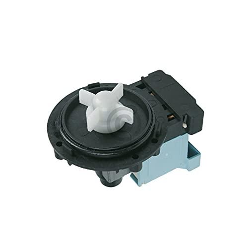 DL-pro Ablaufpumpe Pumpe für AEG Electrolux Juno Zanussi 124018006/5 1240180065 124018006 Pumpenmotor für Waschmaschine Waschtrockner