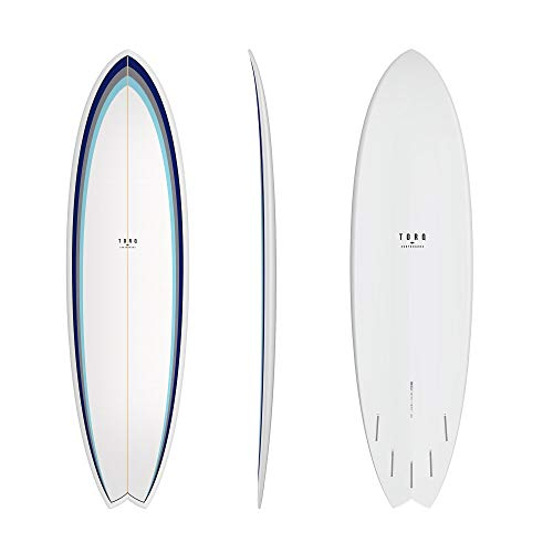 TORQ Tabla de surf Epoxy TET 6.10 MOD Fish Classic