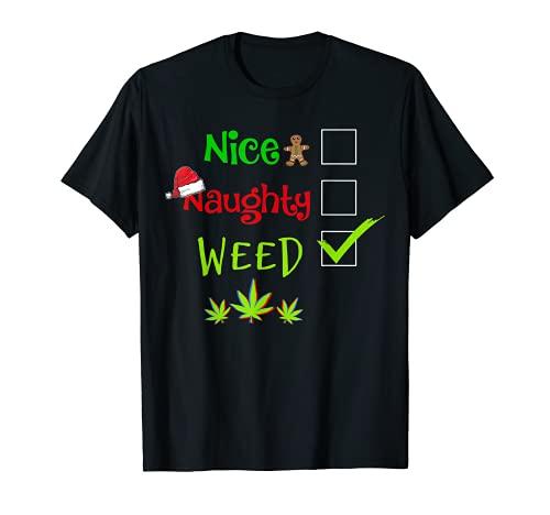 Bonito pijama de marihuana de marihuana con marihuana I d hit That Camiseta