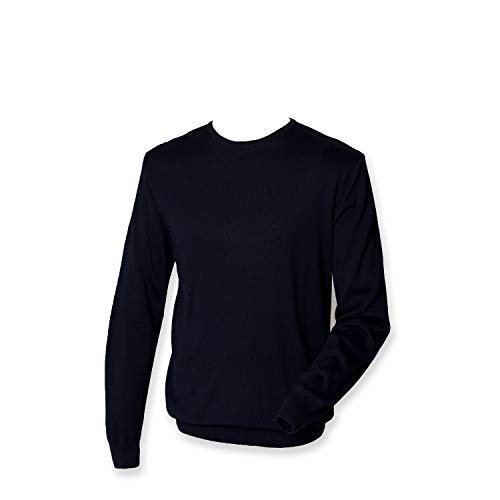 Henbury - Pull - Homme - Bleu - Bleu marine - Xxxx-large
