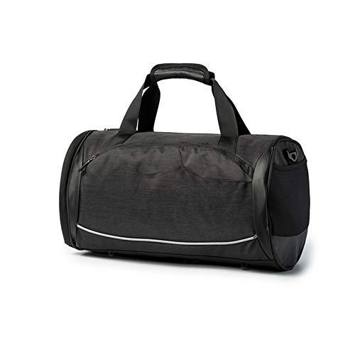 Handtas, gymtas, sportbagage, waterdichte reistas met schoenenkast, grote sporttas, geschikt voor weekends, met u meegaan (Unisex)