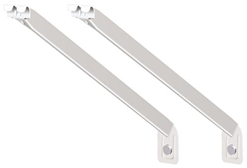 ClosetMaid 56606 12-Inch Support Brackets for Wire Shelving, 2-pack,White
