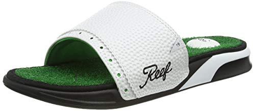Reef Herren Mulligan Slide Flipflop, Green, 44 EU