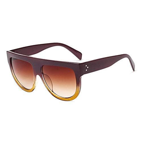 Gafas De Sol Gafas De Sol Cuadradas Retro Moda Mujer Sexy Gafas De Sol Vintage para Hombre Gafas De Sol Gafas De Protección UV Gafas De Sol-C7