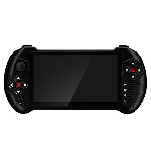 Bluetooth 4.0 3000mah ABS consola de juegos retro portátil Joystick reproductor de juegos WiFi consola de bolsillo compatible con 16 simuladores para Android 7.0 niños adultos entretenimiento