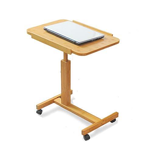 Soporte Portátil Estación de Trabajo cabecera del Escritorio del Ordenador portátil Escritorio en casa en Simple Simple móvil Plegable pequeña (Size : 40 * 60cm)