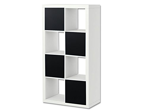 Stikkipix Kreidefolie/Tafelfolie - KF01 - passend für das Regal EXPEDIT/KALLAX von IKEA - Möbel Nicht Inklusive
