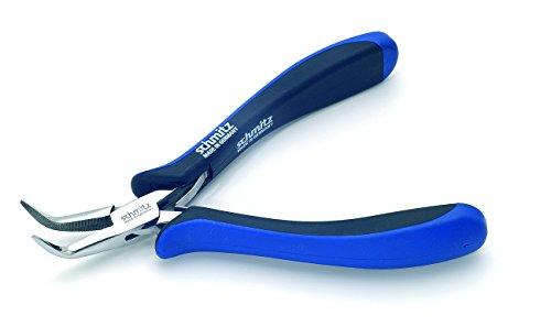 schmitz ESD pince à becs rond 130mm becs courbé, long et frappe 4202 HS 22